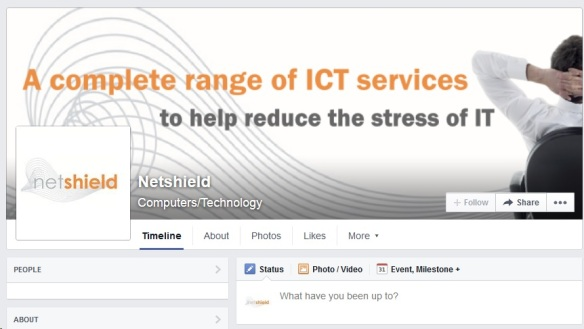 IT Services Netshield Facebook page